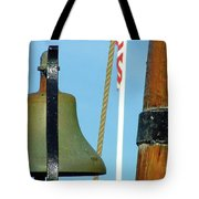 Hms Bounty Ships Bell Tote Bag