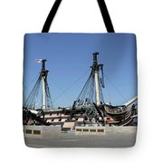 Hms Victory Portsmouth Tote Bag