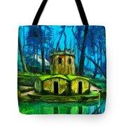 Hobbit's Castle Tote Bag