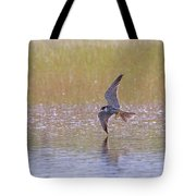 Hobby Skimming Water Tote Bag