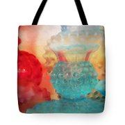 Hobnail Glassware Tote Bag
