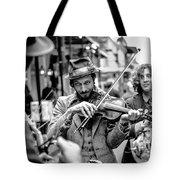 Hobo Ragtime Band Tote Bag