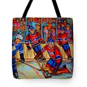 Hockey  Hero Tote Bag