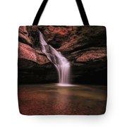 Hocking Hills Cedar Falls Long Exposure Tote Bag