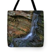 Hocking Hills State Park Small Waterfall Tote Bag