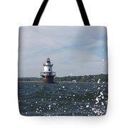 Hog Island Shoal Lighthouse Tote Bag
