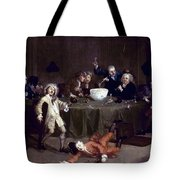 Hogarth: Midnight, 1731 Tote Bag