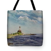Hogby Lighthouse Tote Bag