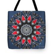 Valkyrie Kaleidoscope 2 Tote Bag