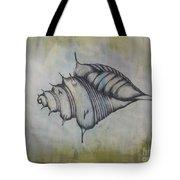 Hoirn In Water Tote Bag