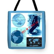 Hold On To Your Hat World Tote Bag