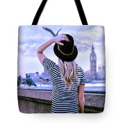 Hold Onto Your Hat Tote Bag