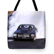 Holden Doing Burnout Tote Bag