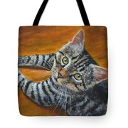 Holding Down The Floor Tote Bag