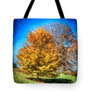 Holding On As Others Drop Tote Bag