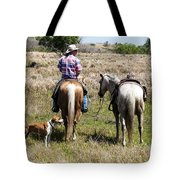 Holding Tension Tote Bag