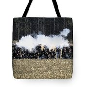 Holding The Line Tote Bag