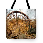 Holding Time Tote Bag