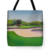 Hole 10 Pastures Of Heaven Tote Bag