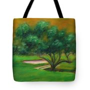 Hole 14 Split The Difference Tote Bag