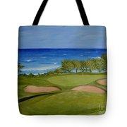 Hole 17 - Wailua Golf Course On Kauai Tote Bag