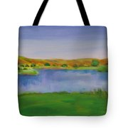Hole 3 Fade Away Tote Bag