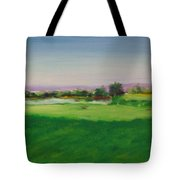 Hole 8 Mission Green Tote Bag
