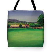 Hole 9 Entrapment Tote Bag