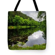 Hole In The Lake Tote Bag