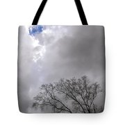 Hole In The Sky Tote Bag