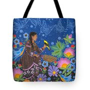 Hole In The Sky's Daughter Tote Bag