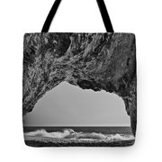 Hole In The Wall Beach Tote Bag