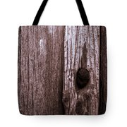 Hole In The Wall. Tote Bag
