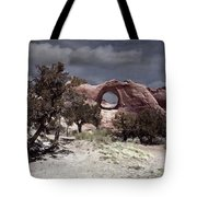 Hole In The Wall Mindscape Tote Bag