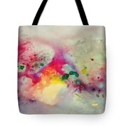 Holi-colorbubbles Abstract Tote Bag