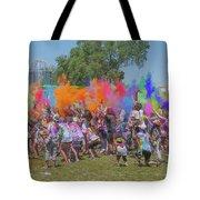 Holi Festival Tote Bag