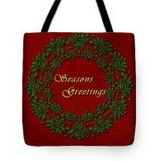 Holiday Card Tote Bag