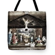 Holiday Christmas Manger Pa 01 Tote Bag