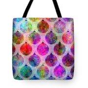 Holiday Colors - Christmas Pattern Tote Bag