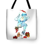 Holiday Girl - Holiday Cards Tote Bag