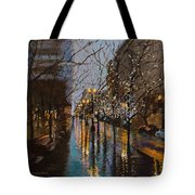 Holiday Glow Tote Bag