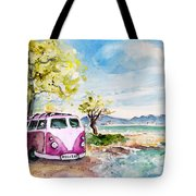 Holiday In Cala Ratjada Tote Bag