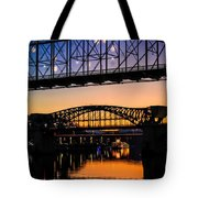 Holiday Lights Chattanooga #2 Tote Bag
