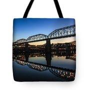 Holiday Lights Chattanooga #3 Tote Bag