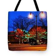Holiday Lights Tote Bag