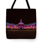 Holiday Lights Of The Denver City And County Building Tote Bag