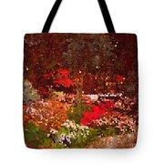 Holiday Mosaic Tote Bag