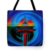 Holiday Needle Illusion Tote Bag