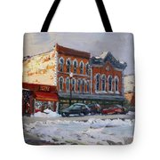 Holiday Shopping In Tonawanda Tote Bag