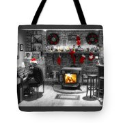 Holiday Spirit Magic Dream Tote Bag